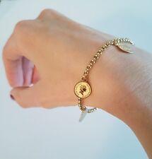 Gold Roman Mini Coin Medallion Bracelet Mango Other Bloggers Stories