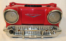 Vintage Randix 57 Chevy Radio Model CR-1957 AM/FM Cassette Tape Player