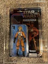 Star Wars 40th Anniversary SDCC Luke Skywalker X-Wing Pilot Black Series