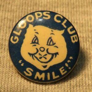 Sheffield Star Gloops Club very old badge