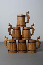 Handmade Designer Beer Mug Unusual Wooden Tableware Home Decoration Gift Ideas