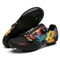 Professional Road Cycling Shoes Men Bike MTB Sneakers Racing Spin Peloton Cleats