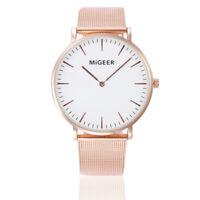Women Wrist Watch fashion Bracelet Stainless Steel Ladies Analog Quartz Watches