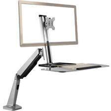 W1GD Staffa porta monitor scrivania braccio snodabile supporto monitor da tavolo