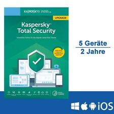Kaspersky Total Security 2019 Upgrade, 5 Geräte - 2 Jahre, ESD, Download