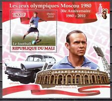 Mali, 2010 issue. Olympics-Soccer Player s/sheet. Auto shown.