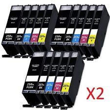 30 PGI-250 XL CLI-251 XL Ink Cartridges for Canon PIXMA MG7120 MG6320 MG5520