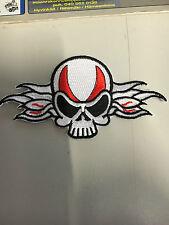 Iron On Patch - Skull Biker