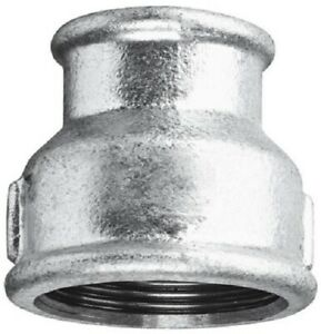 """Sockets - Galvanised Steel  :  Equal and Reducing  :  1/4"""" to 4"""" BSP"""