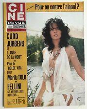 ►CINE REVUE 6/1975 - MARILU TOLO - HELMUT BERGER - JO GAILLARD - CURD JURGENS