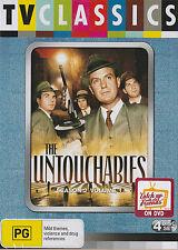 Robert Stack: The UNTOUCHABLES Season 2 Vol 1 *NEW & SEALED* 6-DVD Set Region 4