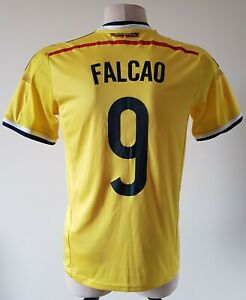 Colombia2014 - 2015 Home football Adidas shirt size S #9 Falcao