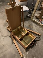 Windsor Newton French Easel Tripod Stand  Portable Wooden Box UNUSED