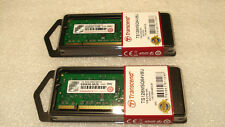 (Brand new) TRANSCEND 2GB (2x1GB) DDR2 800 SO-DIMM Memory TS128MSQ64V8U