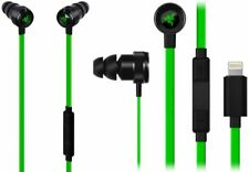Razer Hammerhead for iOS Mobiles Headset Binaural InEar Black/Green, Lightning A