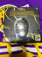 SDCC Power Rangers Legacy Communicator Gold Zeo Ranger With ASJ Autograph Rare!