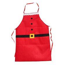 52*100cm Christmas Decor Santa Apron Home Kitchen Cooking Baking Chef Apr New