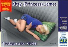MASTER BOX 24046 KITTY (PRINCESS) JAMES - TRUCKERS SERIES 1/24 SCALE MODEL KIT