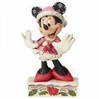 FESTIVE FASHIONISTA Minnie Mouse Figur Jim Shore Weihnachten 6002843 Disney