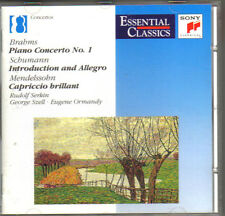 BRAHMS PIANO CONCERTO NO. 1 SONY CLASSICAL CD 1992