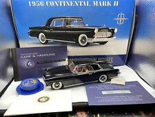 New Listing1/24 Franklin Mint 1956 Lincoln Continental Black Bnib Read Me