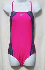 Speedo Girls' Swimsuit Infinity Splice - One Piece - Size 16