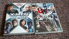 Xmen 1,2 and Last Stand DVDs