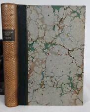 Italienische Reise von Goethe. 1925. Halbleder. 80 Tafeln nach alten Kupfern