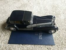 Franklin Mint 1931 Bugatti Royale Coupe de Ville 1/16 Scale Die Cast Model