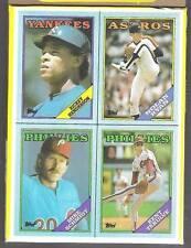 1988 Topps Display Box Set of Four, Ryan, Schmidt, (16)
