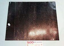 FIAT 500 F/L/R 126 FOGLIO ISOLANTE FONDI IN CATRAMINA ADESIVA PER PIANALI 50x40