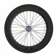 700C carbon track bike wheel 88mm depht only rear wheel for fixed gear tubular