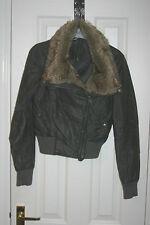 New Look Women's Faux Leather Casual Biker Coats & Jackets