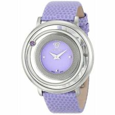 Versace VFH140014 Women's Venus Purple Quartz Watch