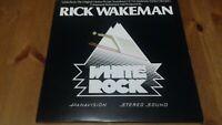 Rick Wakeman – White Rock Vinyl LP Album 33rpm 1977 A&M – AMLH 64614