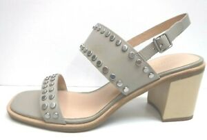 G.H. Bass & Co Size 8 Gray Leather Dress Sandals New Womens Shoes