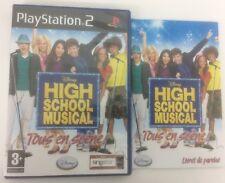Disney Hight School Musical Tous en Scène PS2