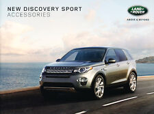 2015 2016 Land Rover Discovery Sport 28page Factory Accessories Brochure Catalog