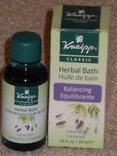 Kneipp Classic Herbal Bath Balancing Lavender (20 ml) (.66 fl. oz.)