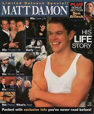 Matt Damon His Life Story Winter 1998 Collector's Edition 022420Ame2