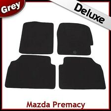 Mazda Premacy 1999 2000 2001 2002 2003 2004 Tailored LUXURY 1300g Car Mats GREY