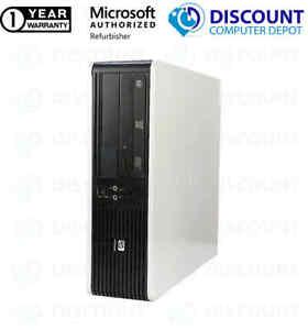 Fast HP 5800 Core 2 Duo Desktop Computer 3.00GHz 4GB RAM 500GB HD Windows 10 PC