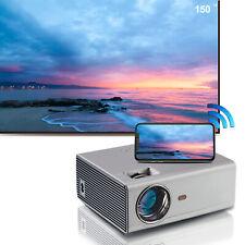"""HD Portable Mini WIFI Projector 1080P 150"""" Max Home Outdoor Auto Keystone Zoom"""