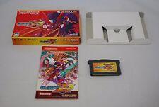 GBA Rockman Zero 3 Z3 w/box Japan Nintendo Game boy Advance mega man megaman