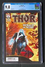 CGC 9.8 Thor # 6 Coipel Cates Klein Thanos Infinity Mjolnir Black Winter 1st