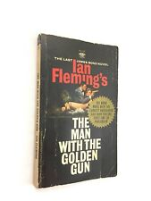 JAMES BOND Man With The Golden Gun Ian Fleming 1966 Paperback 1st First Printing