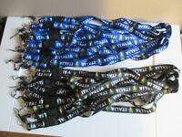 NEW ITALIAN-- FUN STUFF & GIVEAWAYS-- LanyardS, Bracelets, Key Chains & MORE..