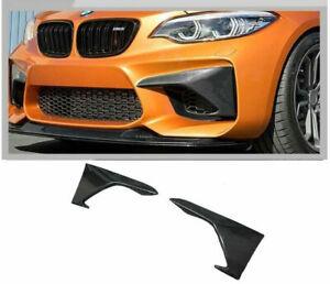 Performance Carbon Fibre Winglets Splitter Lip for BMW 2-Series F22 M2 F87 15-19