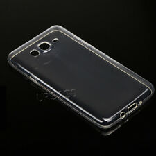 For Samsung Galaxy J7 2015 J700T Shockproof Soft Silicone Transparent Case Cover