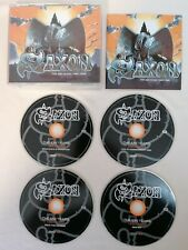 CD BOX SET - Saxon The EMI Years (1985-1988) 4 CD Set 2010 EMI NOWBHM
